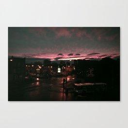 post rain set Canvas Print