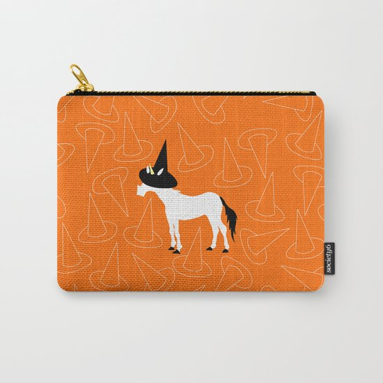 Witch Hat Unicorn Carry-All Pouch