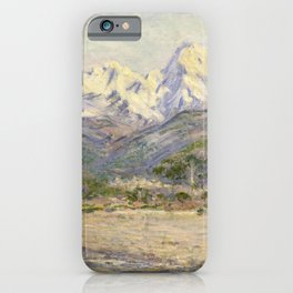 The Valley of the Nervia iPhone Case