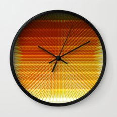 GOLD MINE Wall Clock