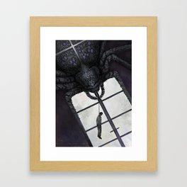 Die Spinne Framed Art Print