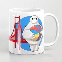 big hero 6 Mugs featuring Big Hero 6 by Collectif PinUp!