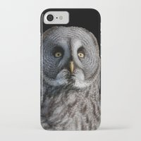 justin timberlake iPhone & iPod Cases featuring GREY OWL by Catspaws