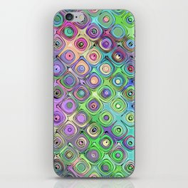 Abstract Pattern of Colorful Shapes  iPhone Skin