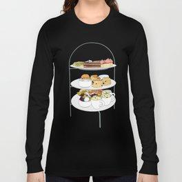 English Afternoon Tea Cakes Long Sleeve T-shirt
