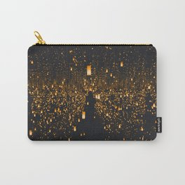 Golden Lights (Color) Carry-All Pouch