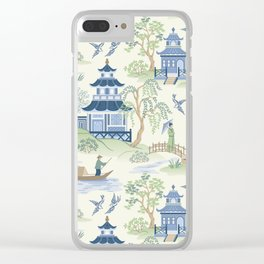 Chinoiserie Clear iPhone Case