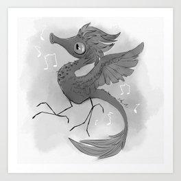 The Whistling Pet Peeve Art Print