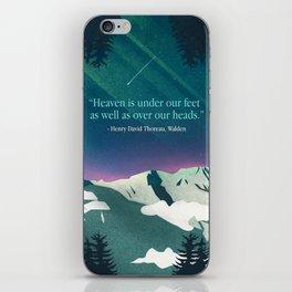 Heaven Sent iPhone Skin