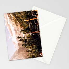 Up in the Mountains Stationery Cards