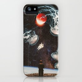 What a weird world we live in iPhone Case