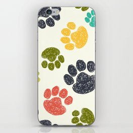Dog Paw iPhone Skin