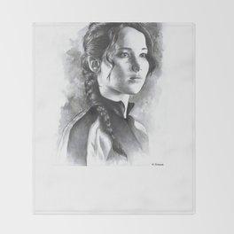 Katniss Throw Blanket