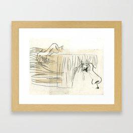10 p.m. Framed Art Print