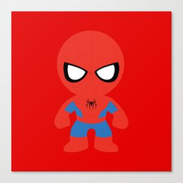 Where's my web? Canvas Print