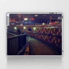 Subway at night Laptop & iPad Skin