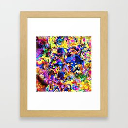 Abstract Mess Framed Art Print