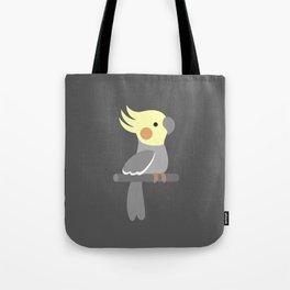 Cute cockatiel Tote Bag