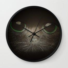 Cats, darklight Wall Clock
