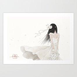 In the White Art Print