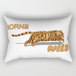 Born to be Bengal Rectangular Pillow
