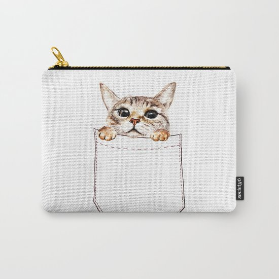 Pocket cat Carry-All Pouch