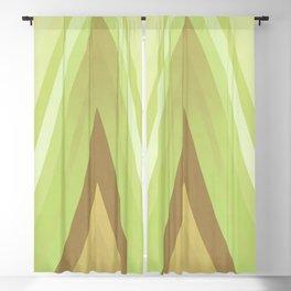 stripes wave pattern 6 nfdi Blackout Curtain