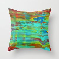 sublime Throw Pillows featuring Sublime by George Lockyer