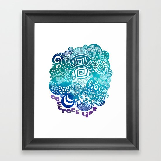 Abstract Life Framed Art Print