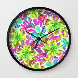 KALIA - LIME Wall Clock