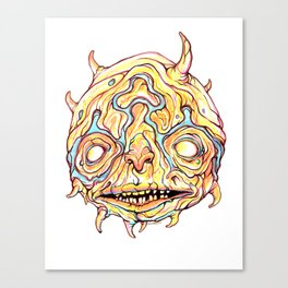 Gross Head: Noodle Head Canvas Print