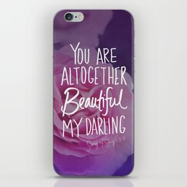 Beautiful (Song of Songs 4:7) iPhone Skin