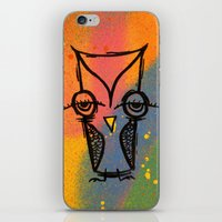 agnes cecile iPhone & iPod Skins featuring Little Agnes by Jeff Claassen