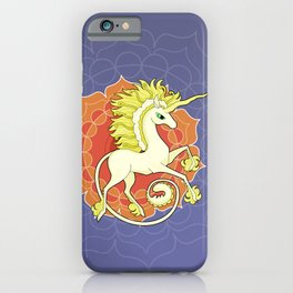 Vendel Unicorn - the sun iPhone Case