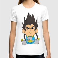 vegeta T-shirts featuring Monkey Vegeta by Kame Nico