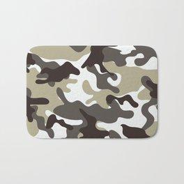 Urban Camo Camouflage Pattern Bath Mat