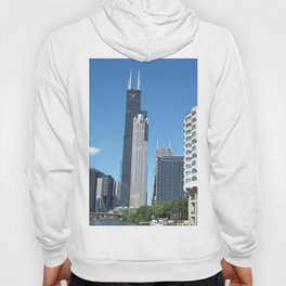 Chicago Historic Skyline Hoody