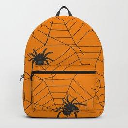 Halloween Spider Illustration Backpack