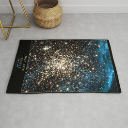 NASA Hubble Space Telescope Poster - NGC 1850 Rug