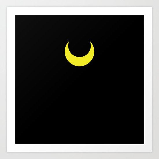 Sailor Moon - Luna Art Print