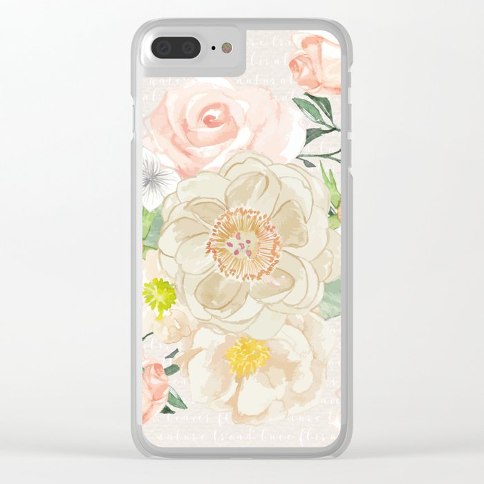 Spring is in the air #31 Clear iPhone Case