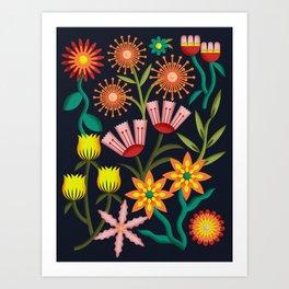 Spring Gathering Art Print