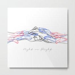 FightOrFlight Metal Print