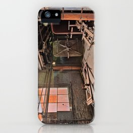 Abandoned Lonaconing Silk Mill iPhone Case