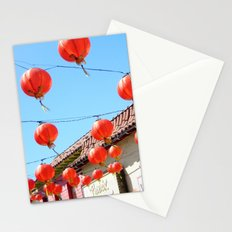 Raise the Red Lantern Stationery Cards