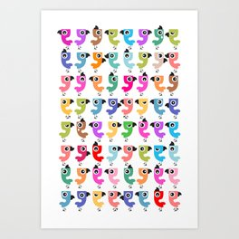 Bird is the Word! Art Print