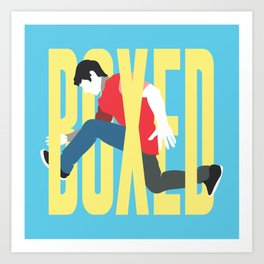 Boxed In Art Print