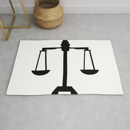 weight scale Rug