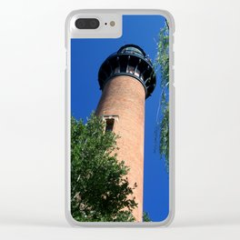 Currituck Lighthouse Clear iPhone Case