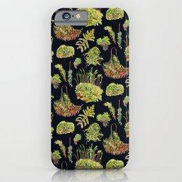 Mosses - Dark iPhone Case